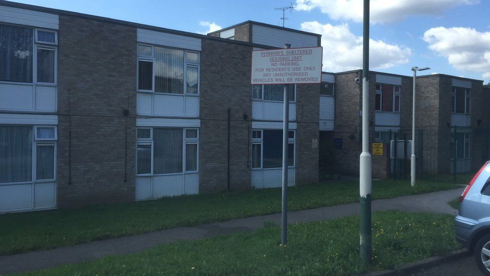Sheltered housing unit on Cecil Road