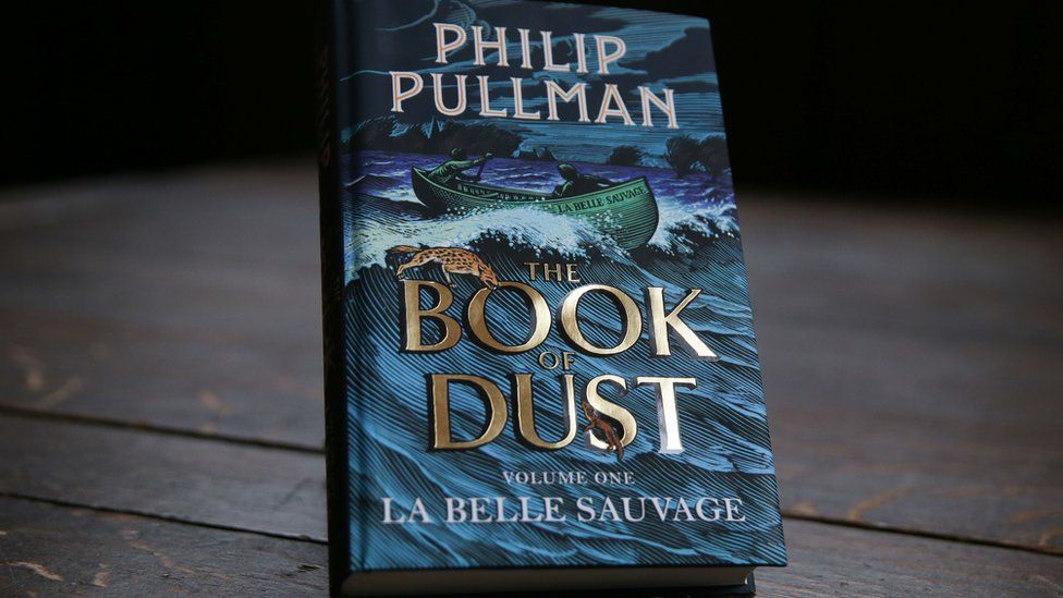 The cover of The Book of Dust