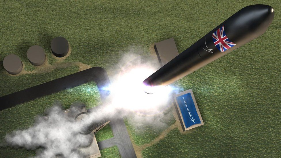 Why is Scotland a prime rocket launch site?