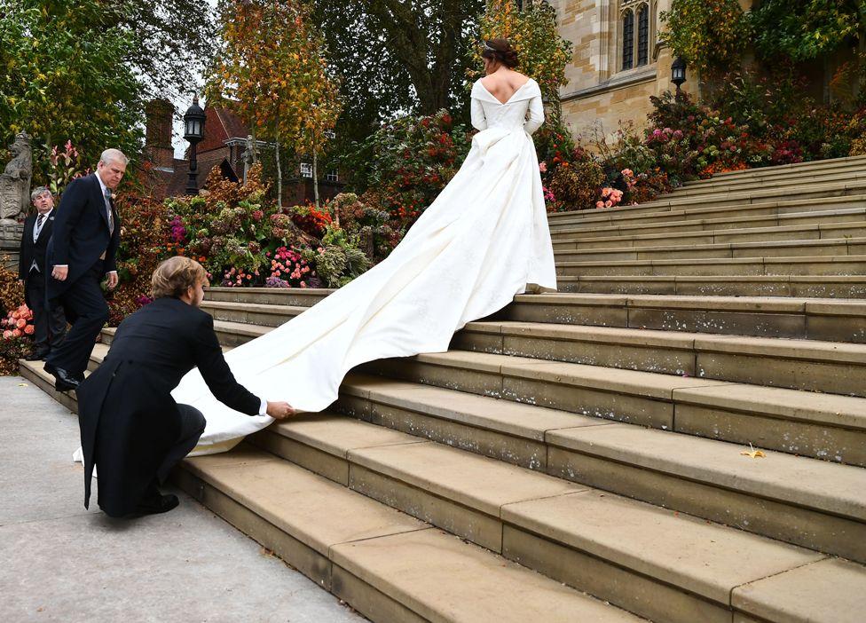 Princess Eugenie wedding flowers