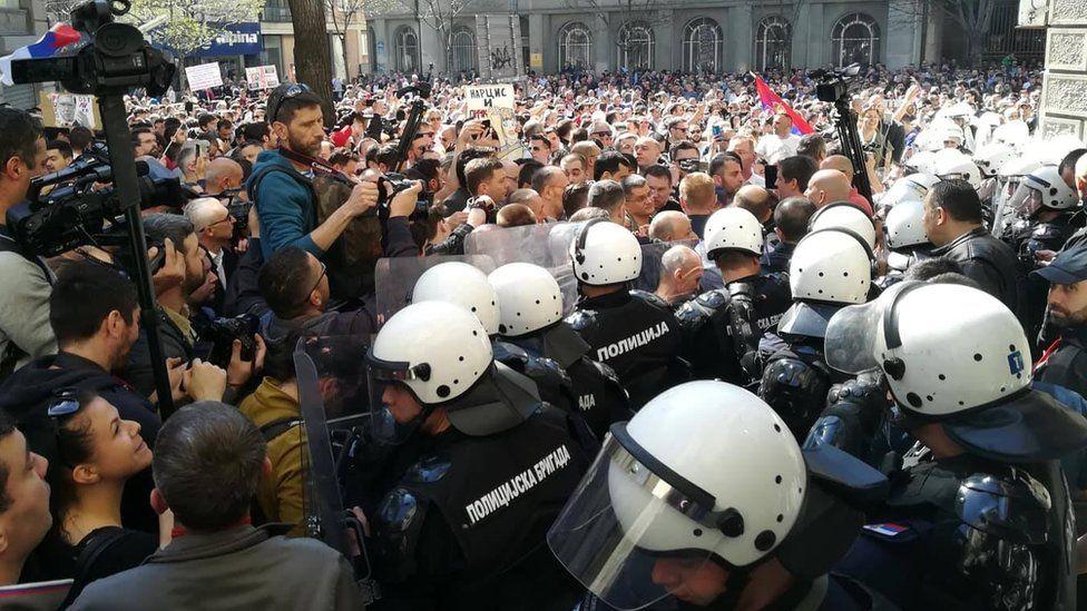 Image result for protesti srbija