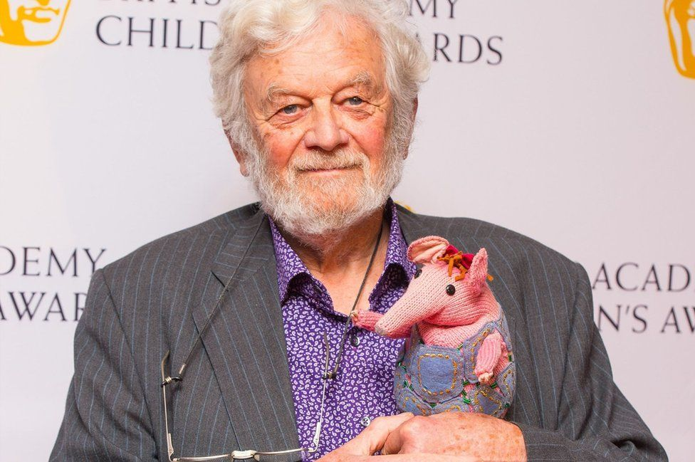 Firmin and clanger at Bafta