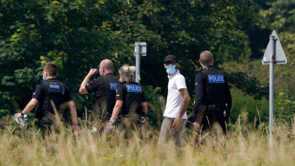 Migrant incident