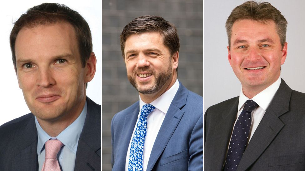Tory MPs Daniel Poulter, Stephen Crabb and Daniel Kawczynski