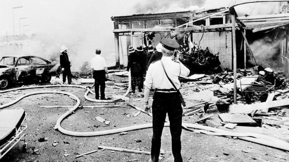 Oxford Street bus station bombing