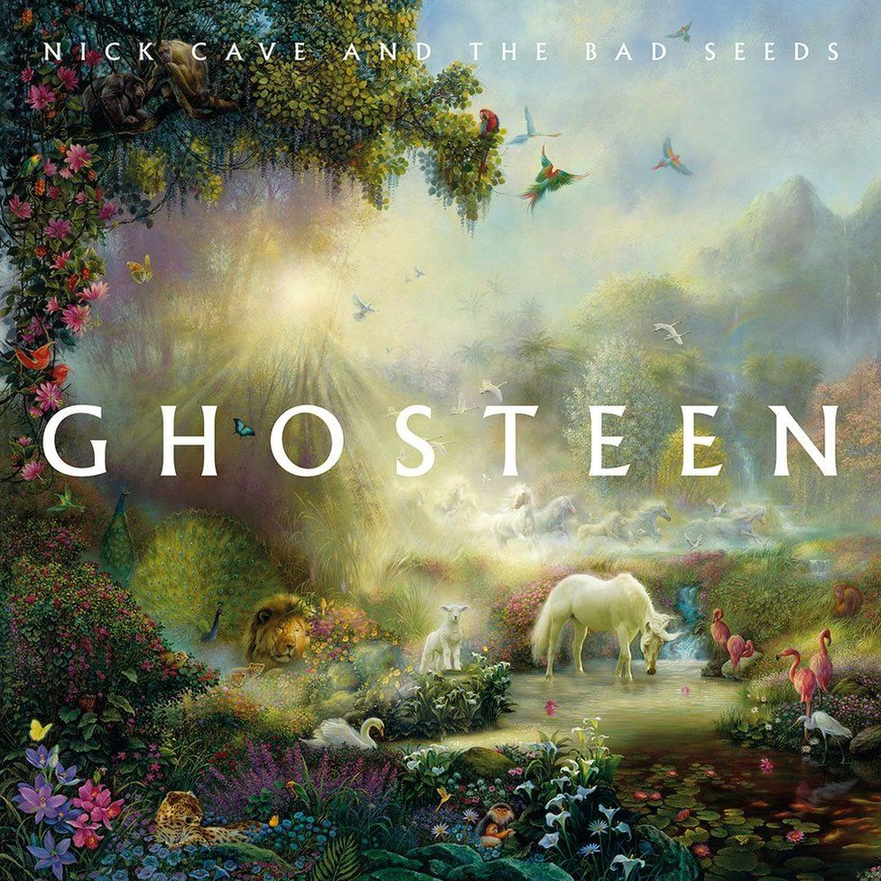 Artwork for Nick Cave's Ghosteen