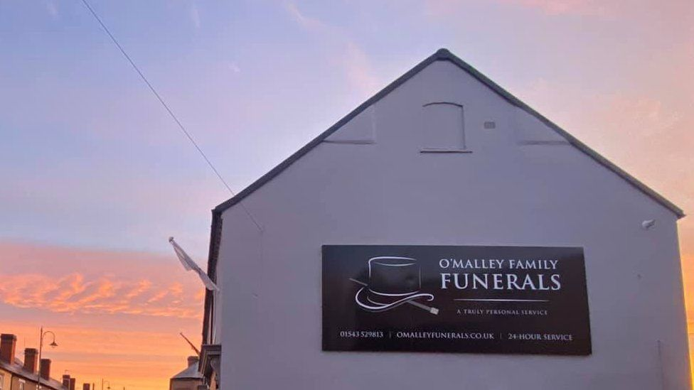 O'Malley Family Funerals outside