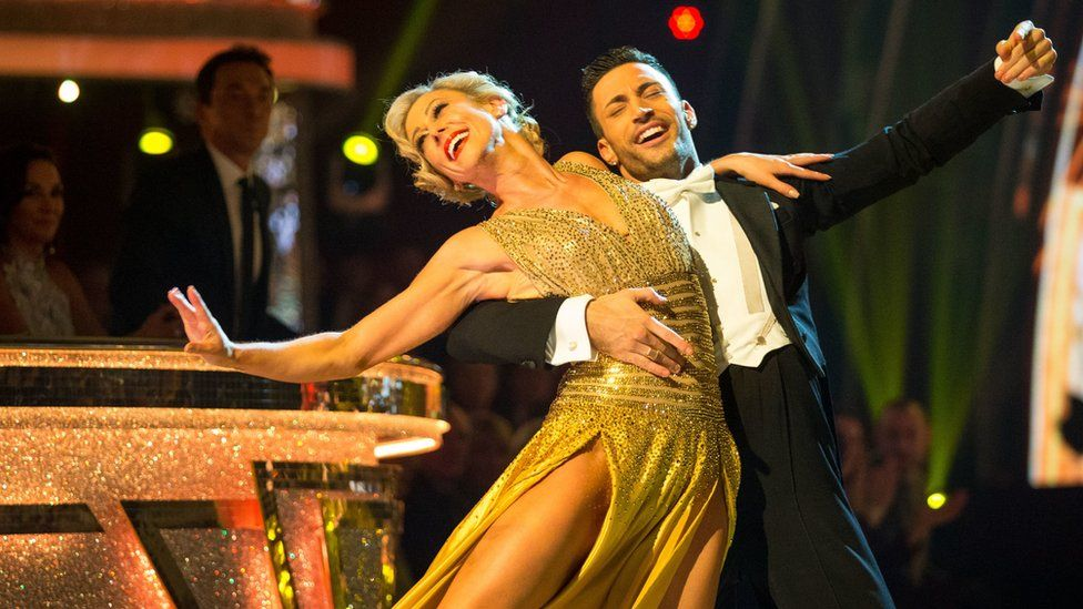 Faye Tozer and Giovanni Pernice on Strictly Come Dancing