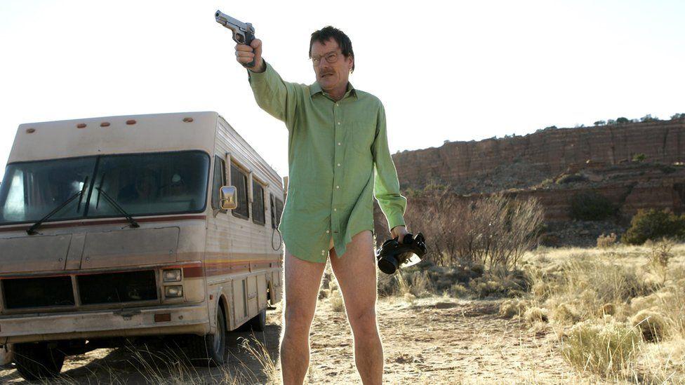 Bryan Cranston played Walter White in Breaking Bad