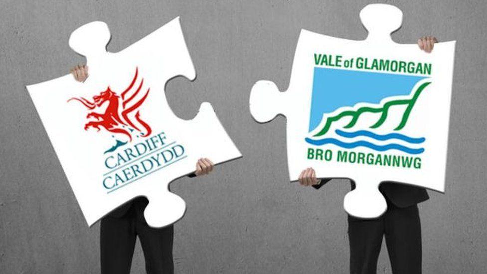 Graphic of council logos