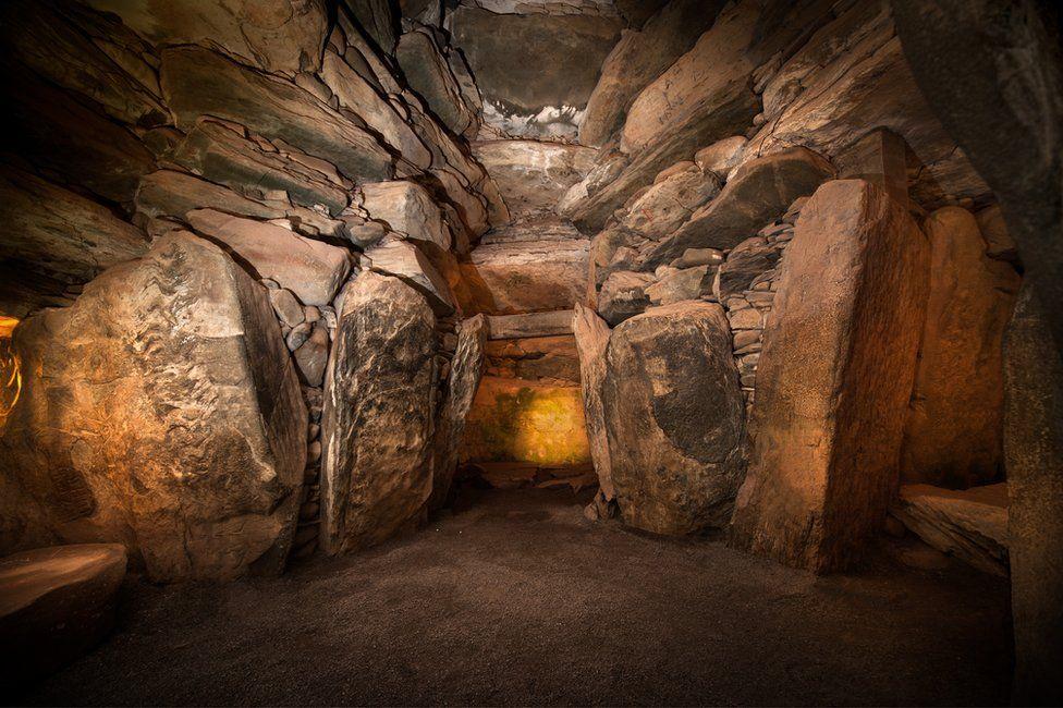 Newgrange chamber