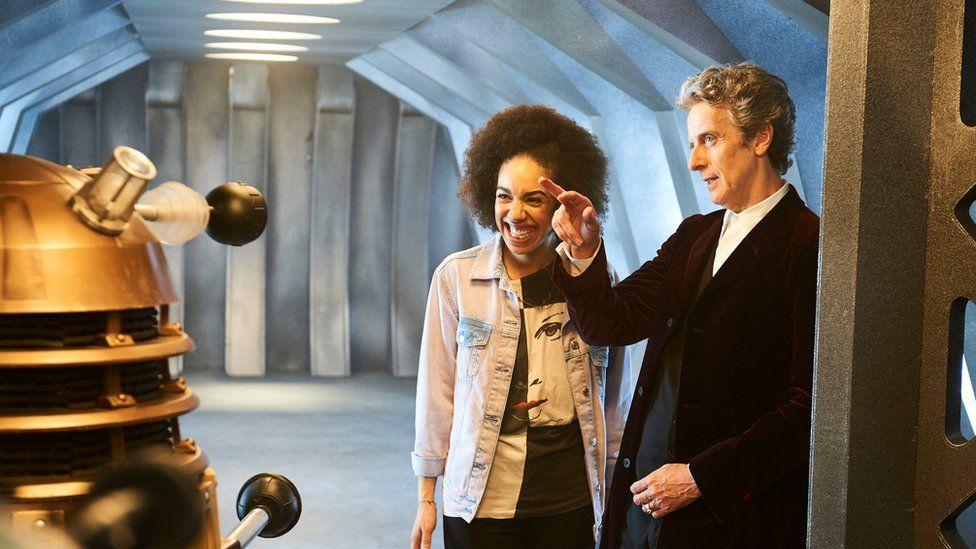 Pearl has already met her first Dalek