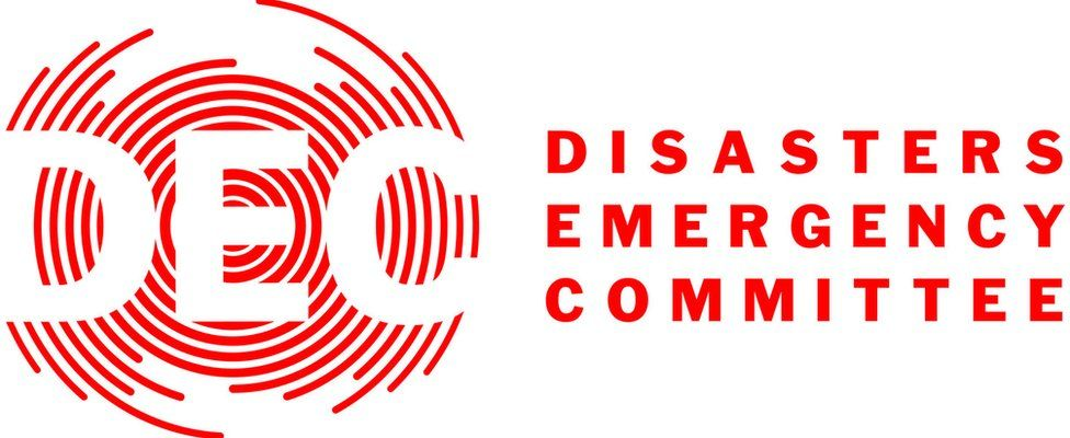 Logo for the UK's Disasters Emergency Committee