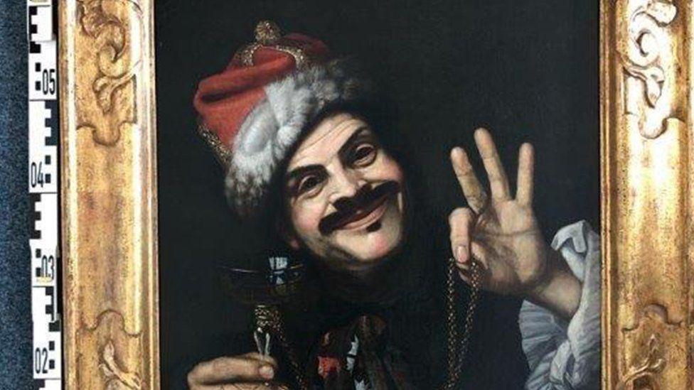 Një fotografi e pikturës nga Pietro Bellotti