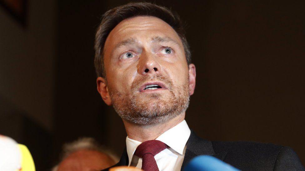 FDP leader Christian Lindner, 19 Nov 17