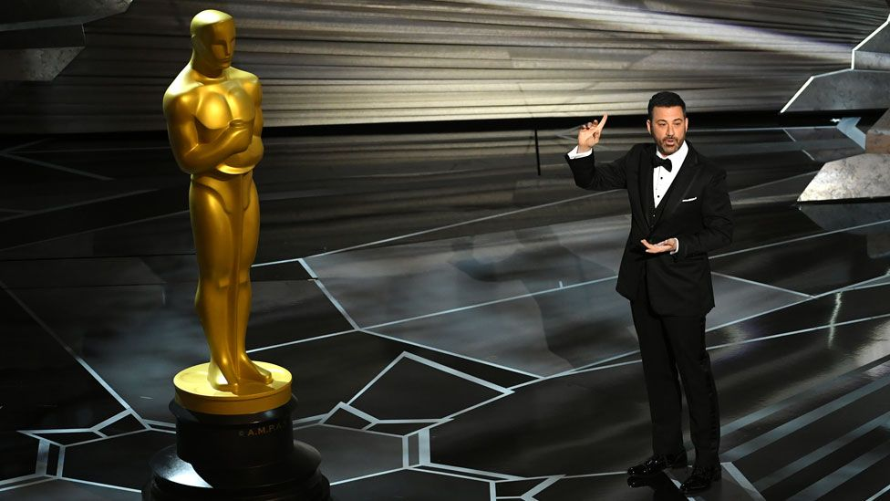 Jimmy Kimmel hosting the 2018 Oscars