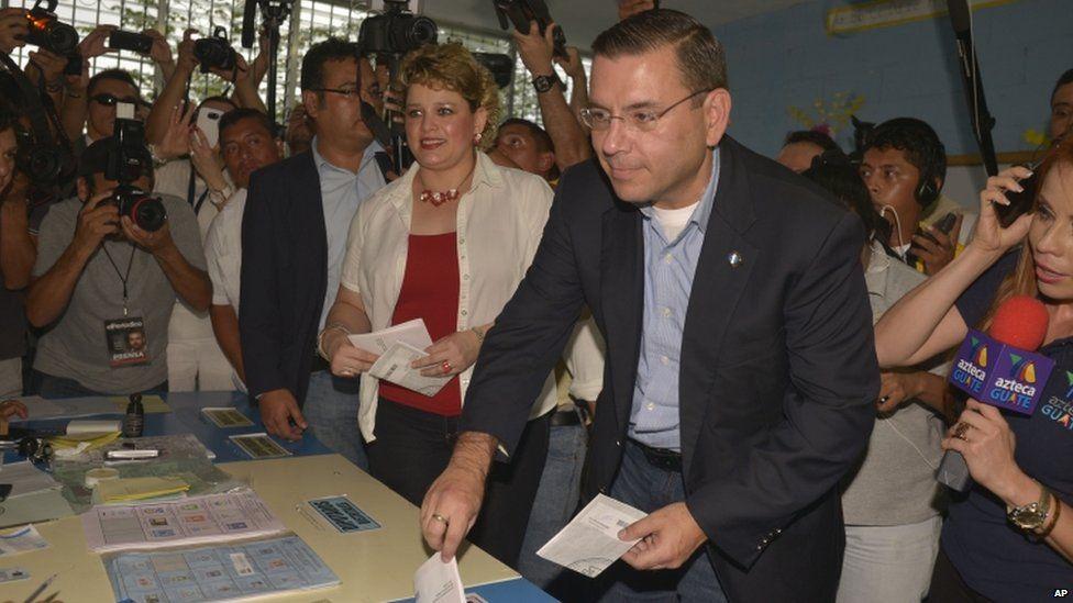 Presidential candidate Manuel Baldizon