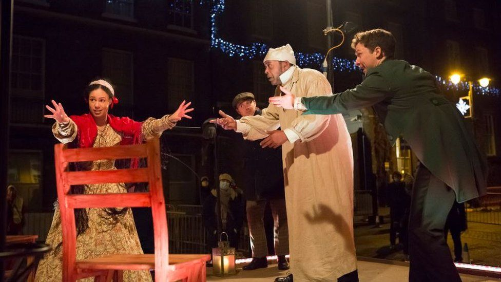A Christmas Carol at the Theatre Royal in Bury St Edmunds