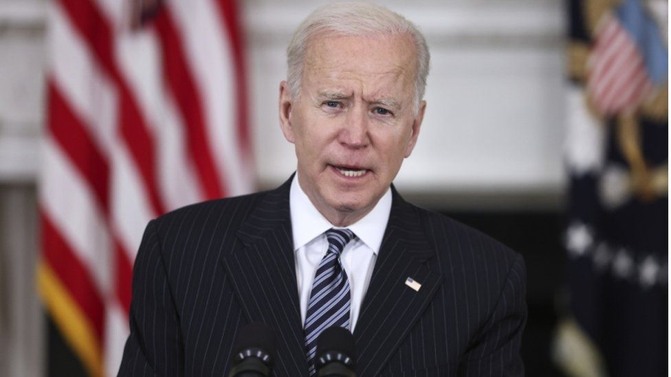 Joe Biden in 2021