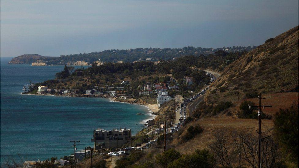 Homes in Malibu, California