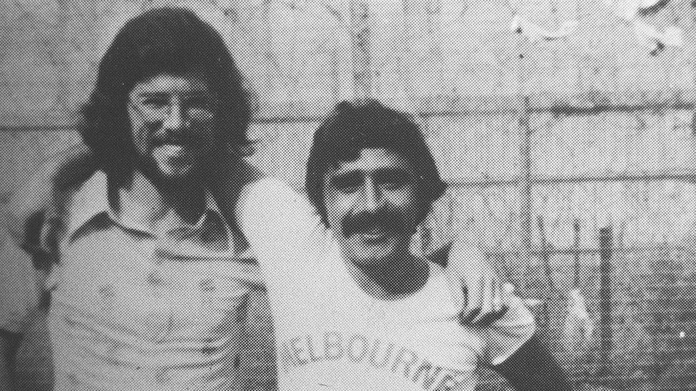 Gerry Adams was imprisoned with Brendan Hughes in the 1970s