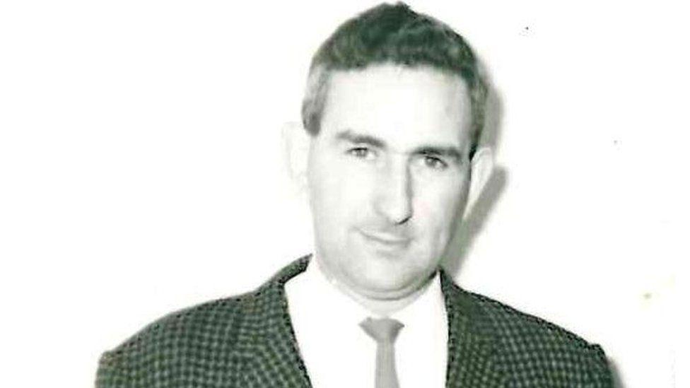 Charles Nunn as a young man
