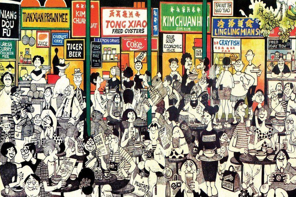 The genius of Indian cartoonist Mario Miranda - BBC News