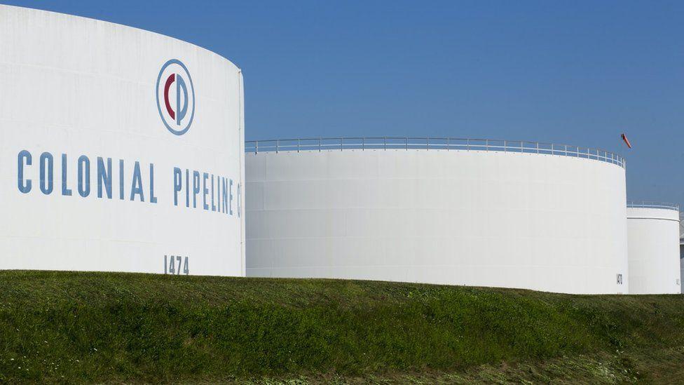 Colonial Pipeline in Georgia