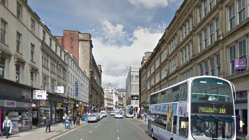 Union Street in Glasgow