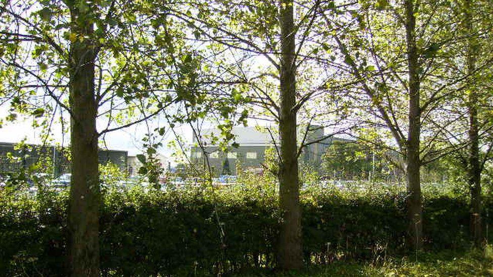 Army barracks in Leconfield