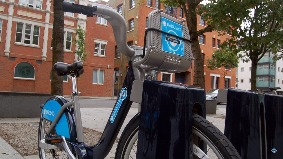 London hire cycle