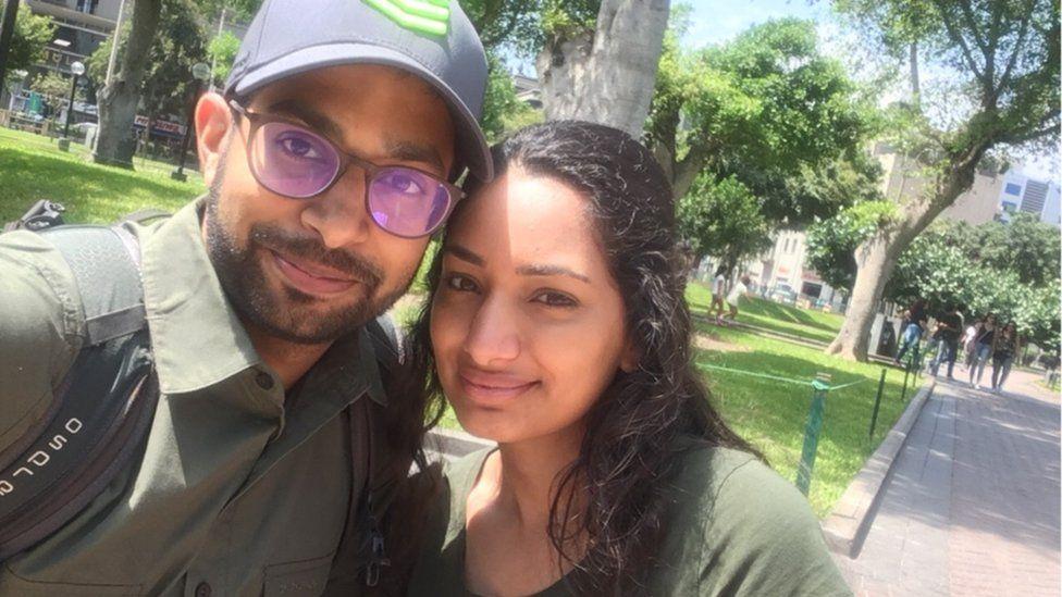 Dr Atish Vadher and wife Jaspreet Vadher