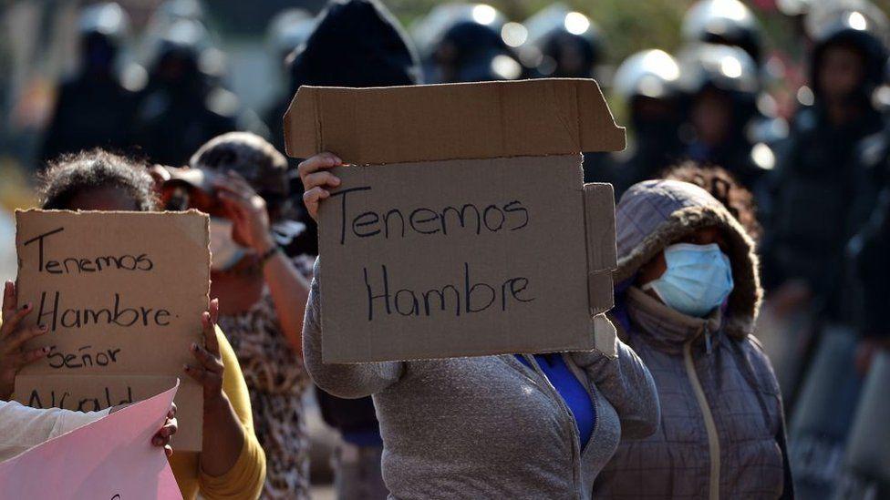 """Coronavirus en América Latina   """"¡Tenemos hambre!"""": las razones ..."""