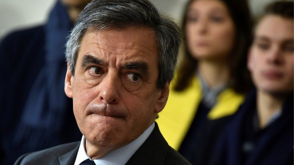 Francois Fillon, former French prime minister, member of The Republicans political party and 2017 presidential election candidate - 17 February 2017
