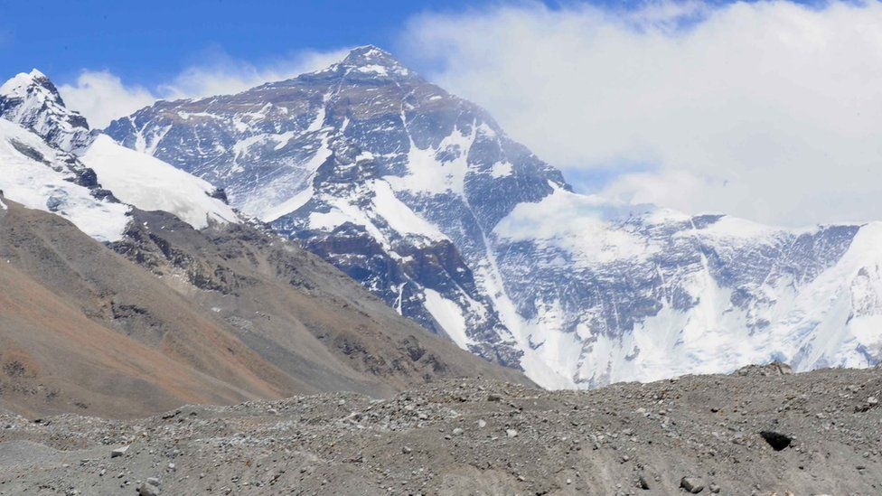 Everest view from Tibetan side