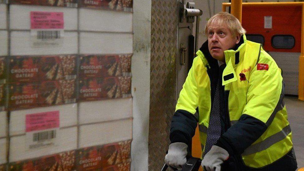 Johnson yn Iceland