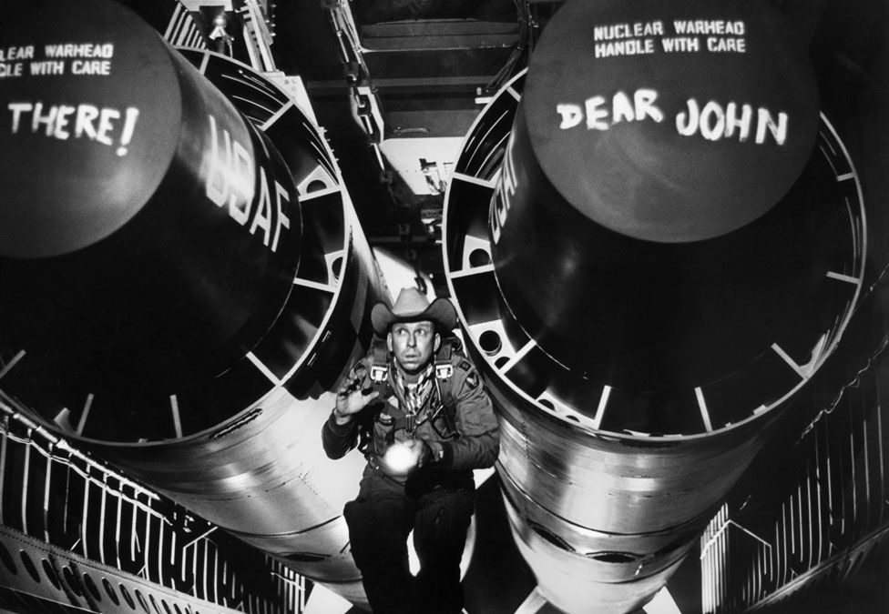 Slim Pickens as Major Kong in Dr Strangelove