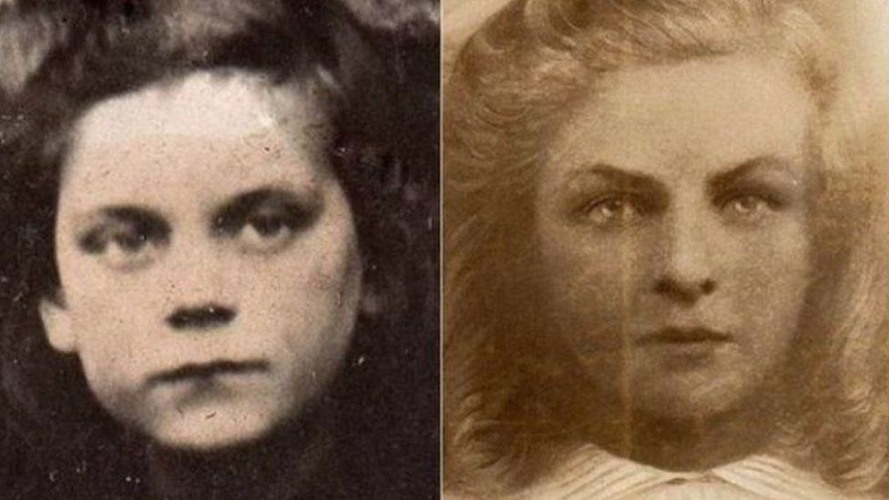 Freda Burnell and Florrie Little