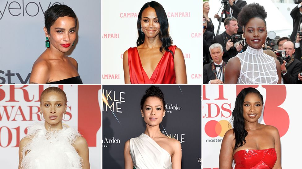 Zoe Kravitz, Zoe Saldana, Lupita Nyong'o, Adwoa Aboah, Gugu Mbatha and Jennifer Hudson