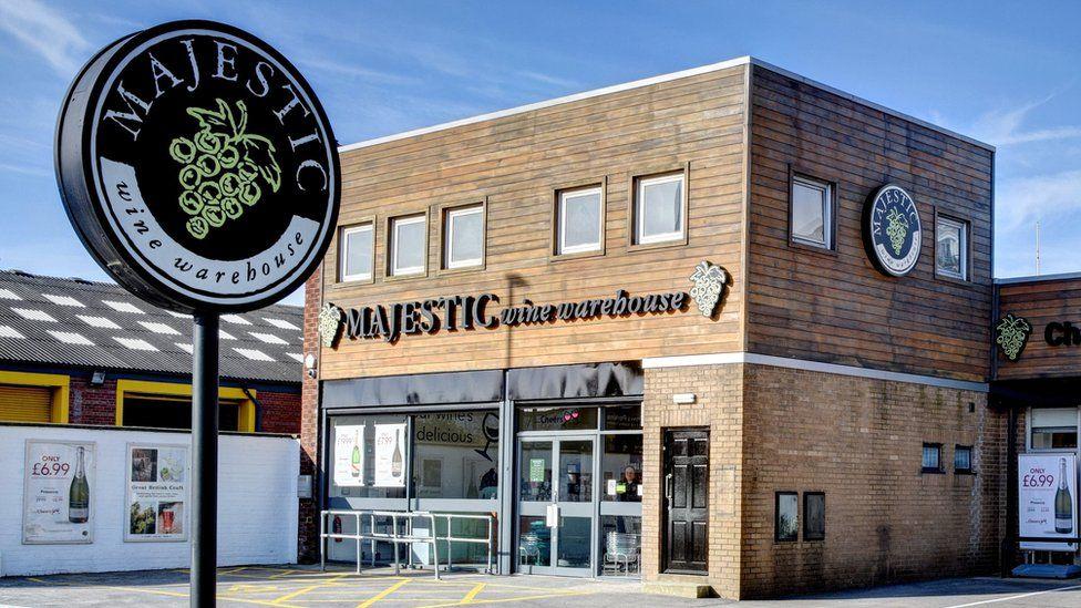 A Majestic Wine store
