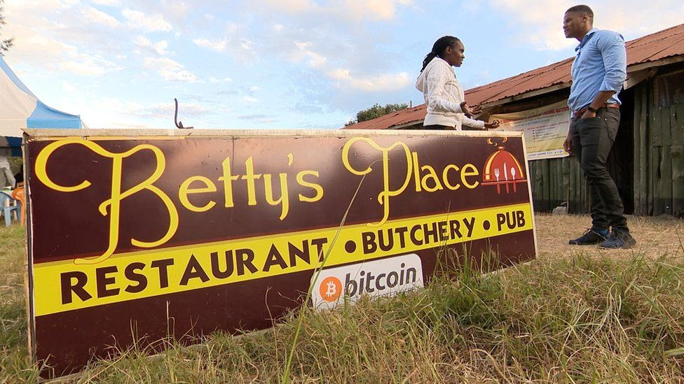 Betty's Place sign