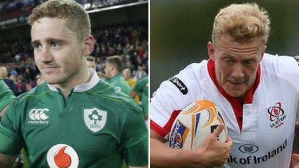 Paddy Jackson and Stuart Olding
