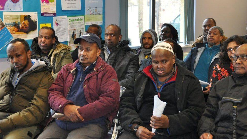 Group of Somali men
