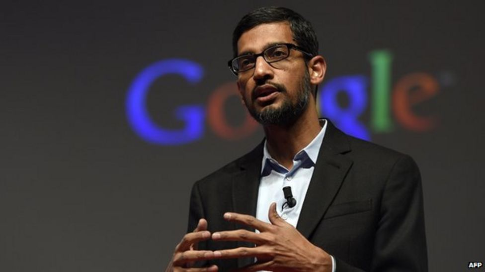 The Rise of Sundar Pichai - cover