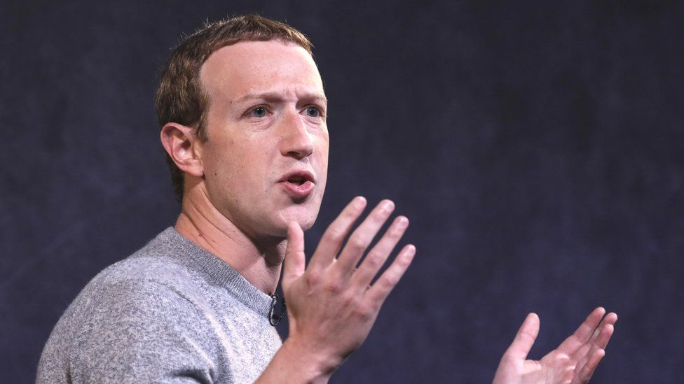 Facebook CEO Mark Zuckerberg speaks about the new Facebook News feature at the Paley Center For Media on October 25, 2019 in New York City.