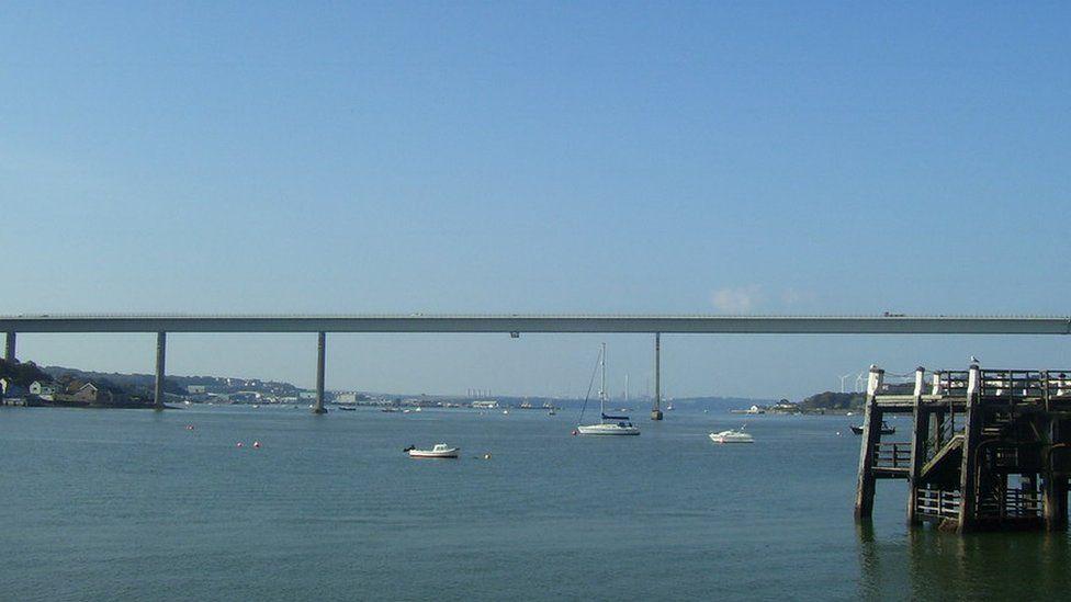 The Cleddau Bridge
