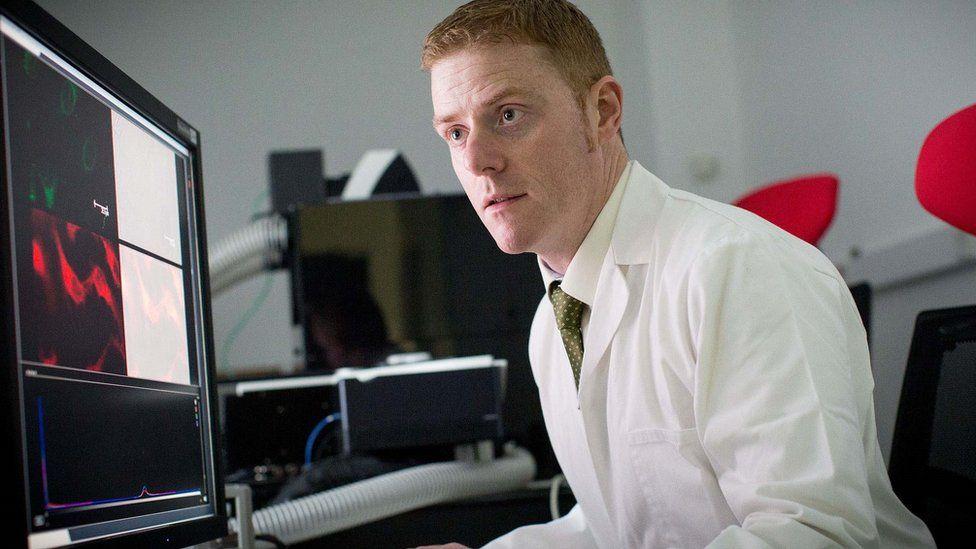 Ulster University's Dr Declan McKenna