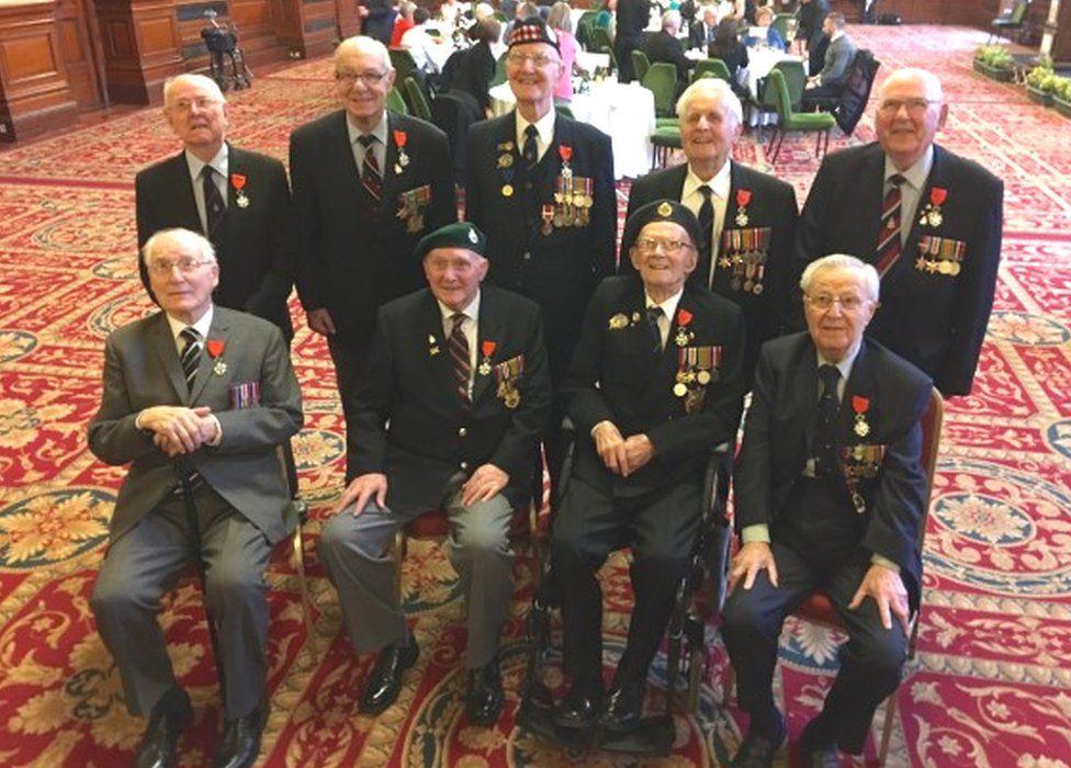 D-Day veterans awarded the Légion d'Honneur