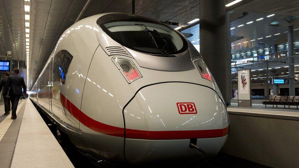 ICE train, 2014 file pic