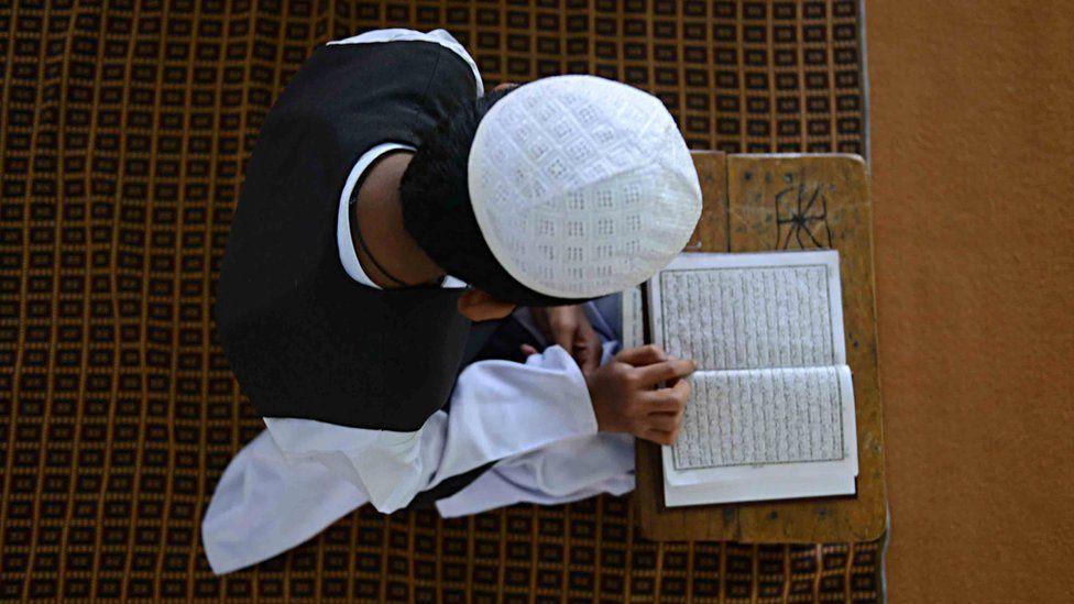 A Muslim child in India